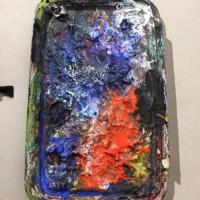Magda Moraczewska atelier arts plastiques, palette