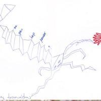 jour 3 - ne pas trop penser, dessin, carnet à dessin, confinement