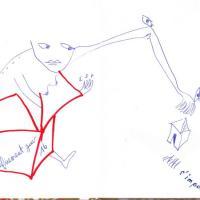 jour 16 - s'imposer, dessin, carnet à dessin, confinement