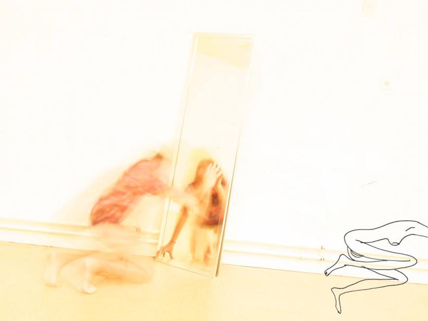 corps clairs - la chute