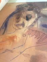 les corps troubles 07, photo, reflet, gravure