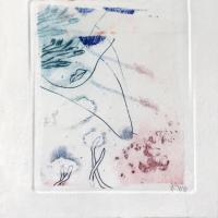 crustacé 1.1, gravure, série disparition des espèces