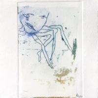 crustacé 2, gravure, série disparition des espèces