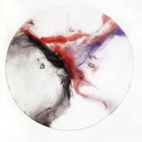 série cocon, 1 - gravure, pointe sèche, monotype