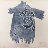 série texte-textile