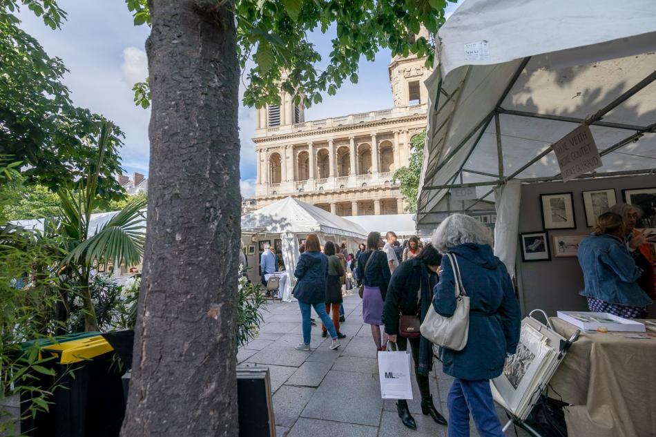 Journées de l'Estampe Contemporaine 2019 - Saint Sulpice, Paris