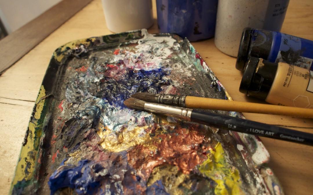 stage de peinture acrylique