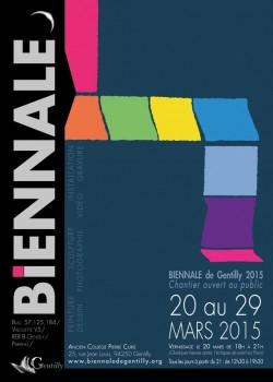 Biennale de Gentilly, affiche