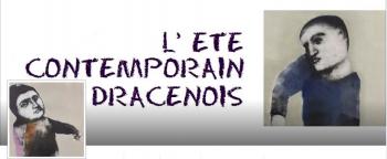 affiche été contemporain Dracenois