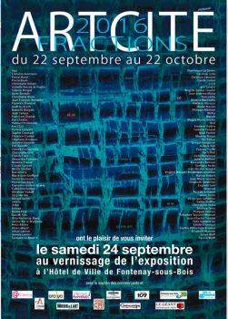 salon d'art contemporain, Artcité, peinture, Fontenay-sous-Bois