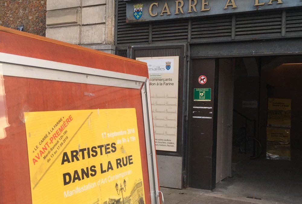 Artistes dans la Rue – exposition sous chapiteaux à Versailles