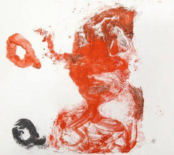 Magda Moraczewska, gravure, monotype, Biennale de Gentilly