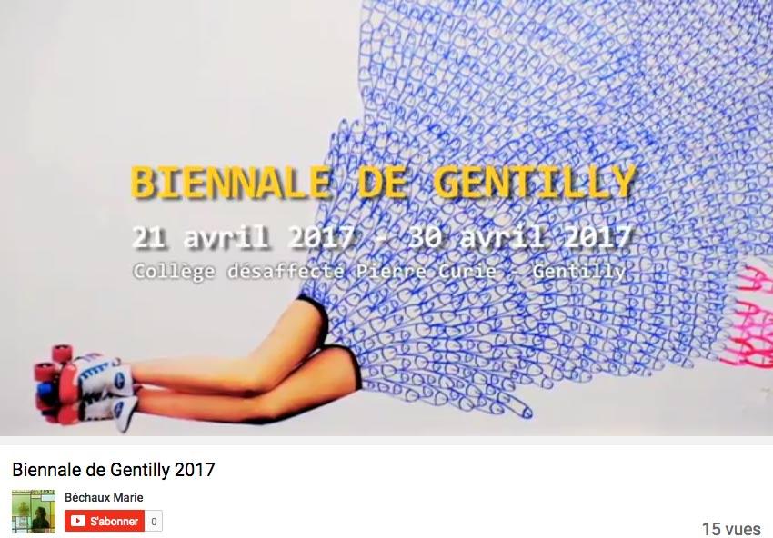 Biennale de Gentilly – teaser
