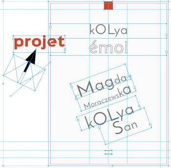 livre sur kOLya San avec Magda Moraczewska