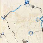 trajectoire 1, dessin, carte