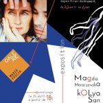 affiche expo Magda Moraczewska kOLya San