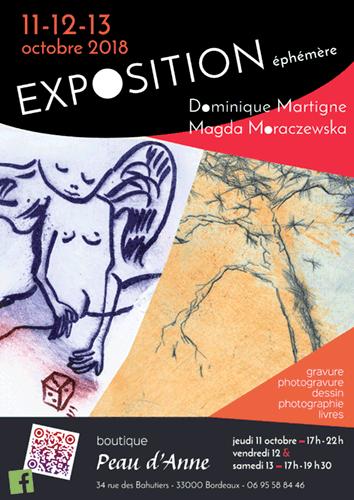 exposition éphémère à Bordeaux