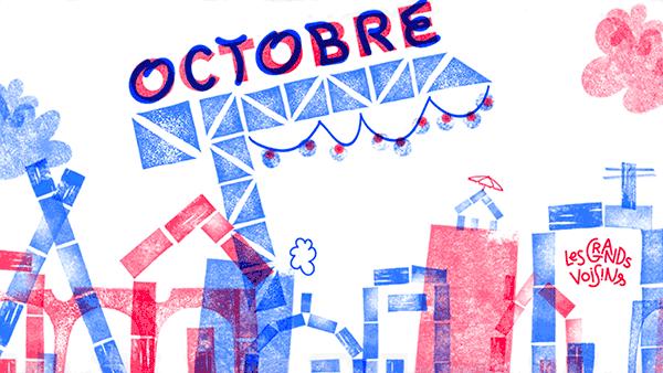 le marché des Grands Voisins – 21 octobre 2018