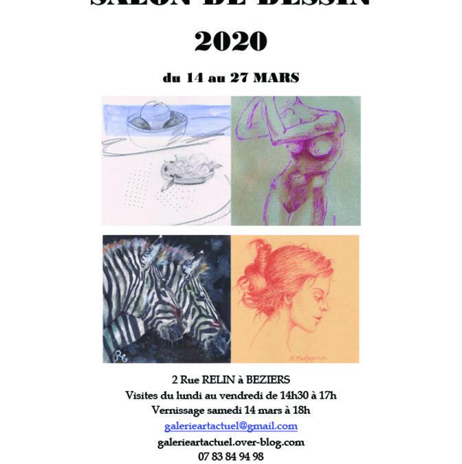 4e Salon du dessin, galerie Artactuel, Béziers