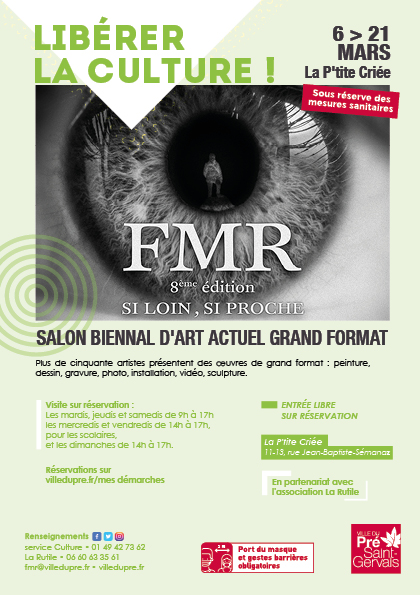 salon biennal d'art actuel grand format FMR