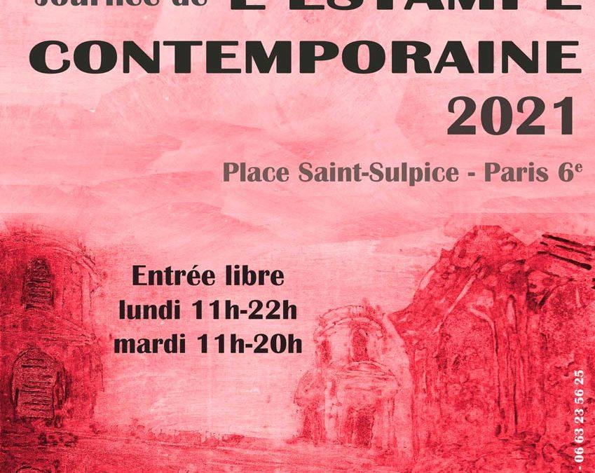 Journée de l'estampe, place Saint-Sulpice